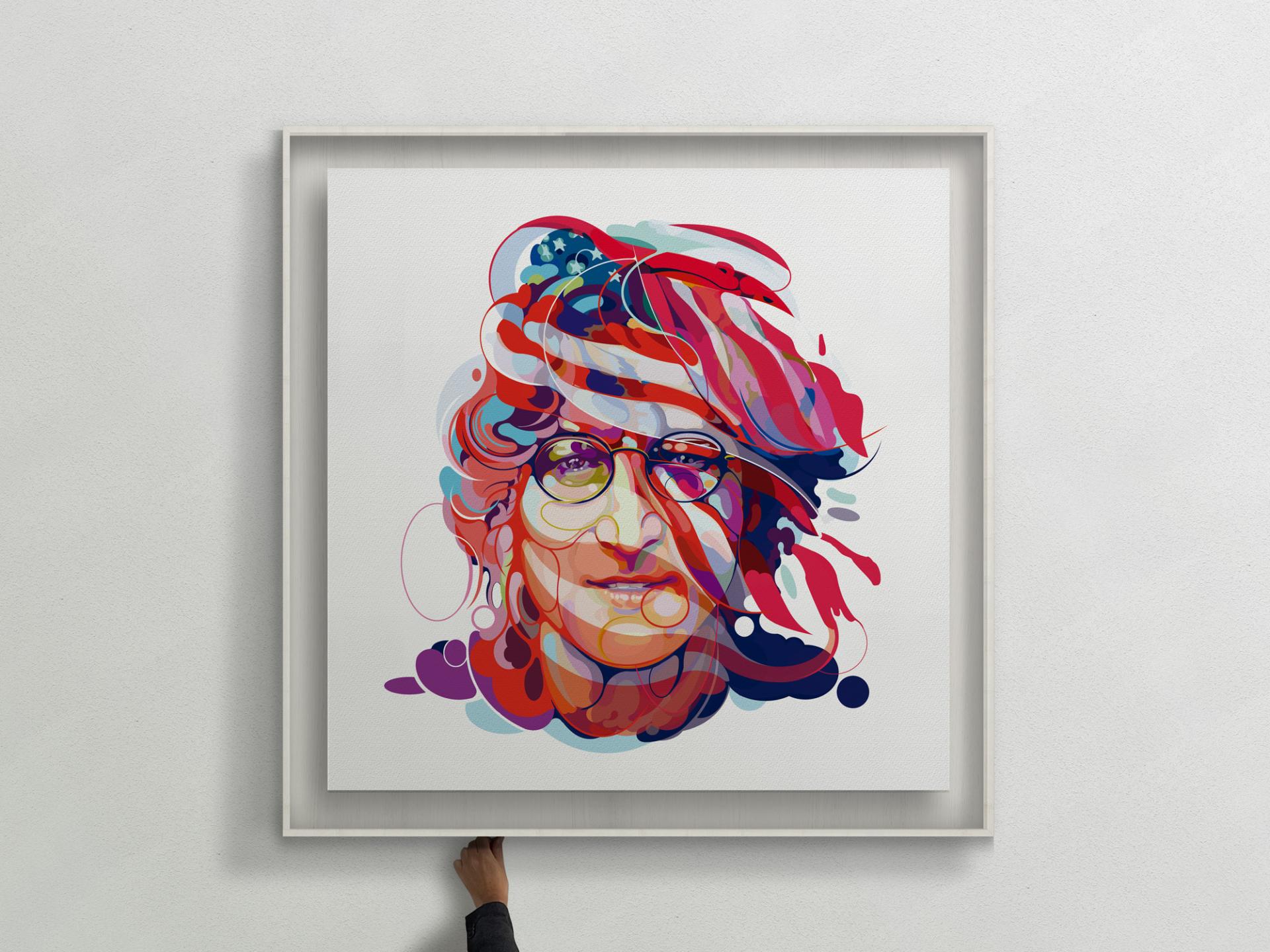 Lennon in USA